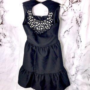 NWT Kate Spade pearl embellished mikado dress